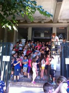scuola monteverdi sezione + piedibus 1