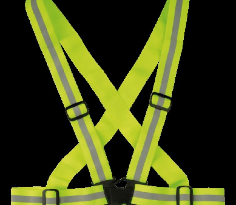 P01-0200-bretella ciclista giallo