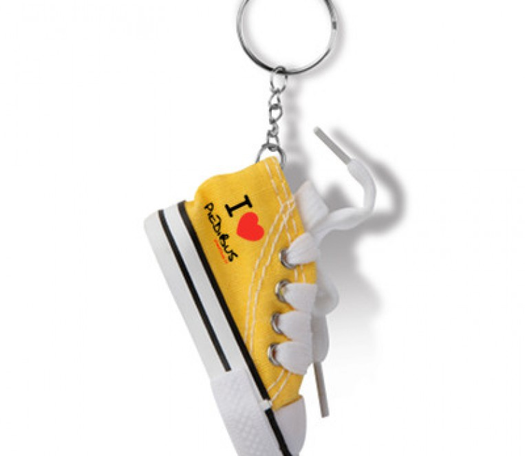 SE14213G portachiavi scarpa gialla